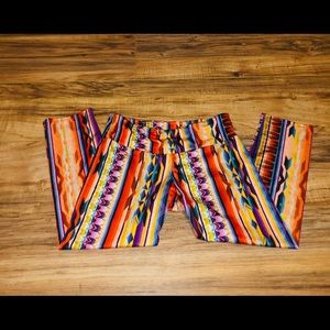 New XS onzie colorful leggings, amazing condition.